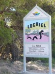 The Lochiel Monster - What you can't see is that the Loch is actually a Salt Lake, I am not sure how long Nessie's cousin here would have lasted.