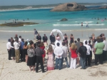 Wedding crashing in Esperance - Randomly on a beach I witnessed the wedding of locals Kimberley and Michael.  It was truly a special day